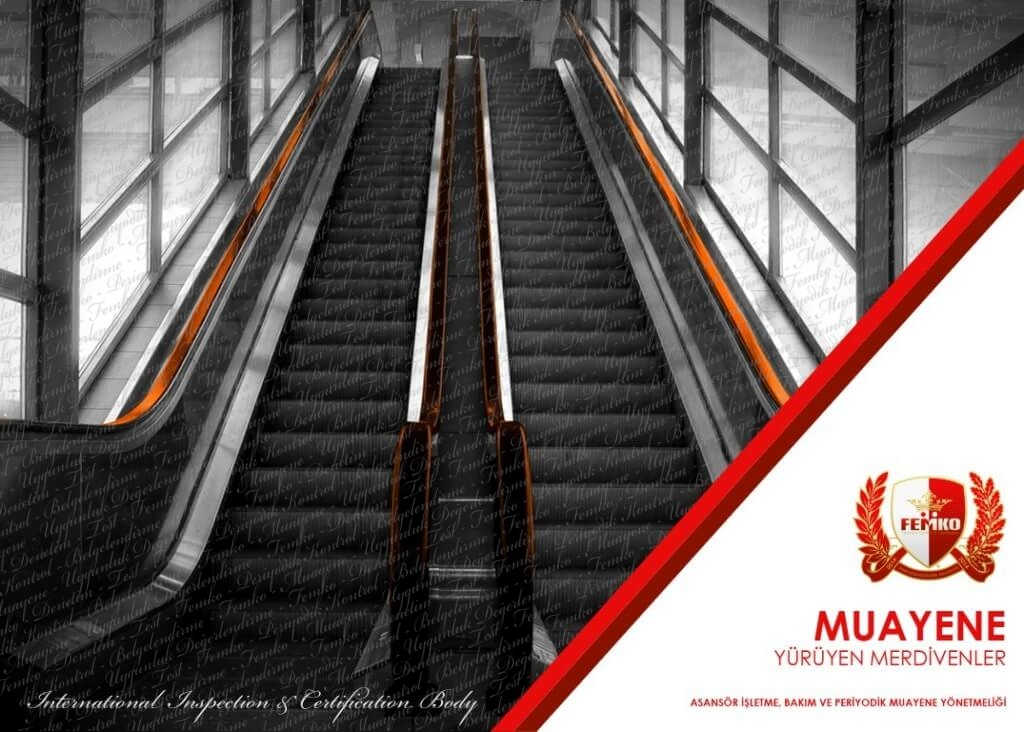 Yürüyen Merdiven Periyodik Kontrol