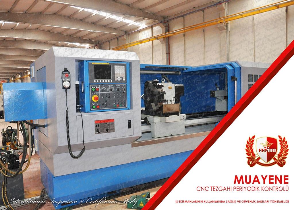 CNC İşleme Tezgahı Periyodik Kontrolü